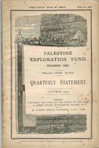 Quarterly Statement. October 1914.