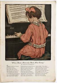 When Music, Heavenly Maid, Was Young. [ COLOR ILLUSTRATION in complete issue of Woman's Home Companion January 1921].