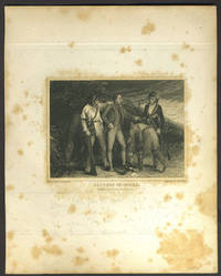 image of Capture of Andre. Small mezzotint
