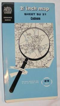 Cadnam. 1:25000 Map Sheet SU 21