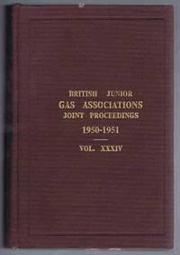 British Junior Gas Associations Transactions 1950-51 Vol. XXXIV