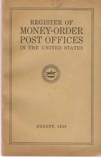 Register of Money-Order Post Offices in the United States