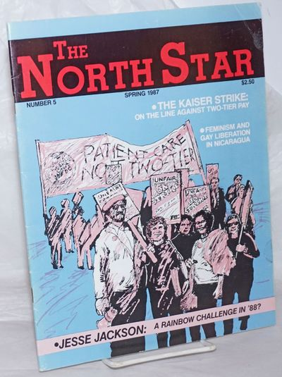 Berkeley: North Star Network, 1986. One issue, 40pp., 8.5x11 inches, glossy cover wraps, blue addres...