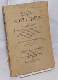 image of Manuel du Posticheur, contenant quatre-vingt-dix-sept dessins. Nouvelle edition