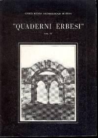 Quaderni erbesi. Vita del museo e conferenze dell'anno 1981