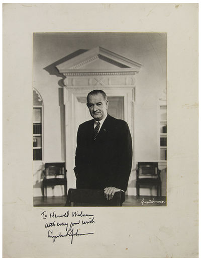 Lyndon B. Johnson, 36th president of...