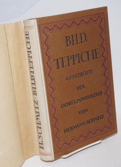 Berlin: Verlag Fur Kunstwissenschaft, 1920. Handsome old item in wonderful condition; 352p., clay-co...