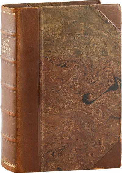 New York: Leavitt, Trow & Co, 1846. Second Edition. Quarto (26cm). Early-to-mid-20th-c. half-calf ov...