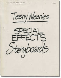 Honey, I Shrunk the Kids [Teeny Weenies] (Original storyboards for the 1989 film)