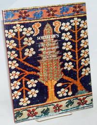Fine Oriental and European Carpets; Sotheby's New York Thursday April 15 1993, including Property from the Collection of Christopher Alexander ..[et alia]