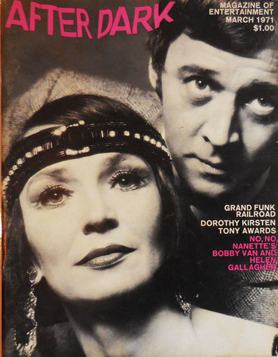 New York: After Dark, 1971. First edition. Paperback. Very Good. Tall, stapled magazine format. The ...