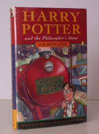 image of Harry Potter and the Philosopher's Stone. [Fifteenth Impression]. FIFTEENTH IMPRESSION: NEAR FINE COPY IN UNCLIPPED DUSTWRAPPER