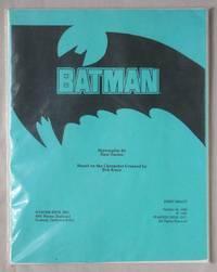 Batman: First Draft Screenplay