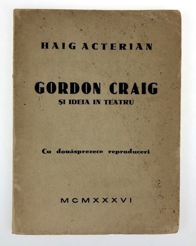 Burcharest: Vremea, 1936. First edition. First edition. 12mo. Original printed wraps with lettering ...