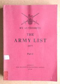 The Army List 1977 Part 1.