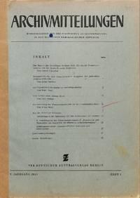Die Bedeutung der Wasserzeichenkunde für die Geschichtsforschung. by  WISSO WEISS - from Frits Knuf Antiquarian Books (SKU: 13178)