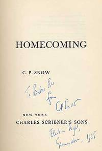 New York: Scribners, 1956. Hardcover. Good. Second printing. Spine lettering worn and some general s...