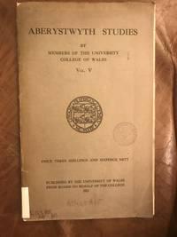 The Cauldron In Ritual And Myth Aberystwyth Studies Vol. V. 1923