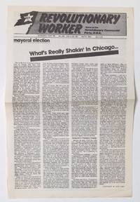 image of Mayoral election: What's really shakin' in Chicago [broadside]