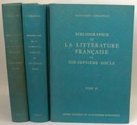 Bibliographie de la littérature française du dix-septième siècle. 3 volumes [complet]