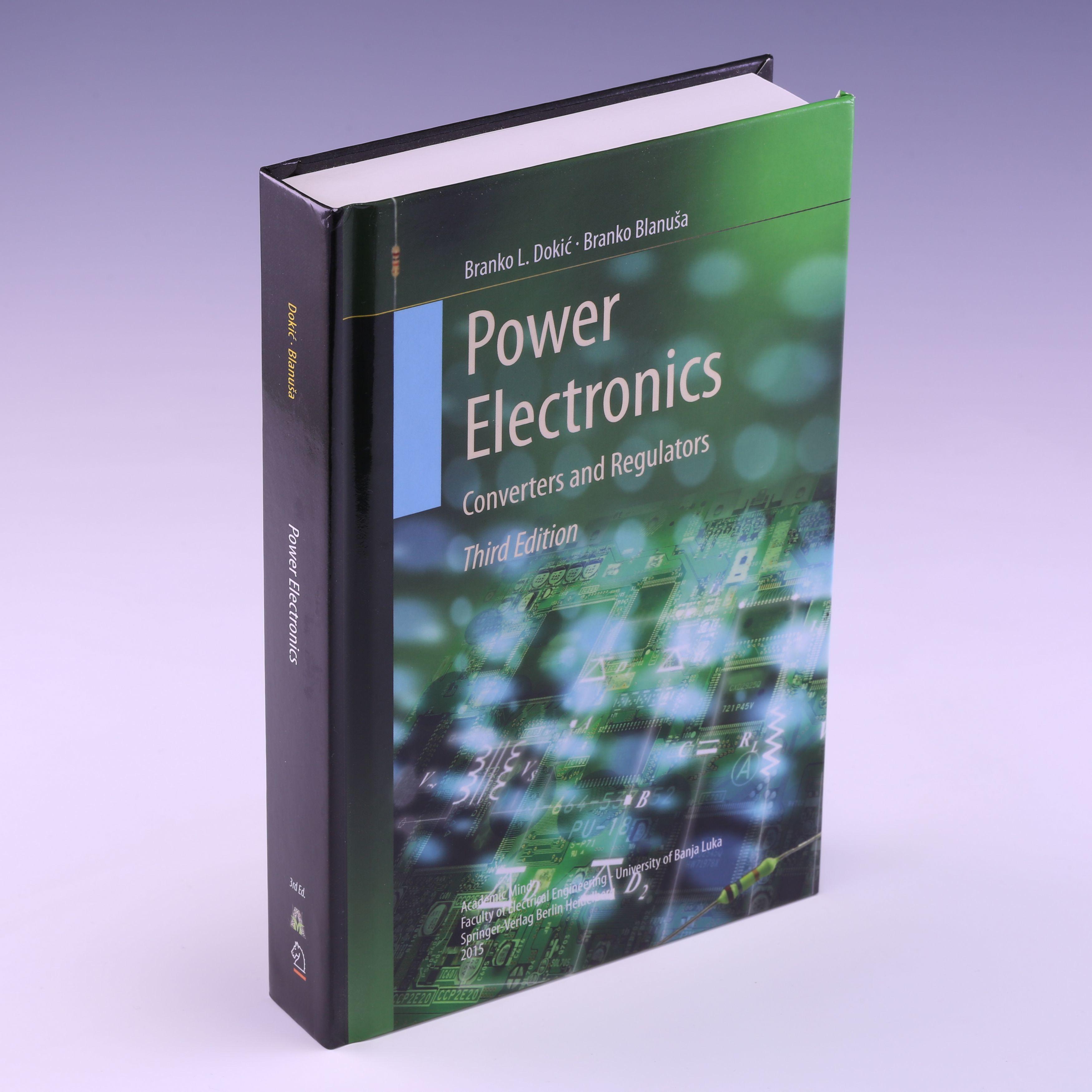 9783319094014 - POWER ELECTRONICS: CONVERTERS AND REGULATORS