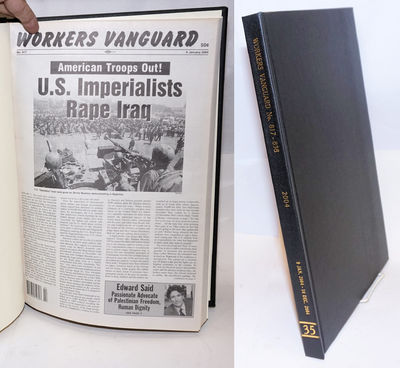New York: Spartacist Publishing Co, 2004. Hardcover. Various pagination, 11x17 inches, bound volume ...