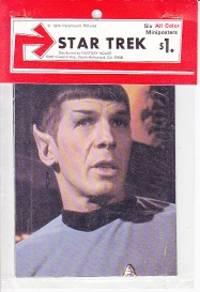 STAR TREK - Six All Color Miniposters