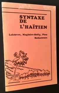 Syntaxe de L'Haitien