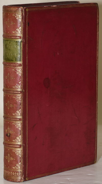Paris: Librairie de L. Hachette et Cie, 1867. Full Leather. Very Good binding. Nicely bound in crims...