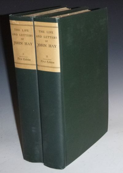 Boston: Harcourt, Brace, 1915. First Edition. Octavo. Henry Cabot Lodge's copies both with his bookp...
