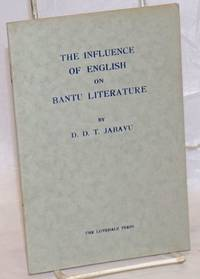 image of The influence of English on Bantu literature