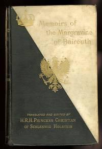 image of MEMOIRS OF WILHELMINE, MARGRAVINE OF BAIREUTH.
