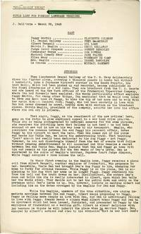 image of Practically Yours (Post-production script for the 1944 film)