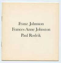 image of Franz Johnston; Frances-Anne Johnston; Paul Rodrik