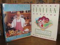 Modern Italian Cooking-La Vera Cucina-2 Hardcovers re Italian Coooking