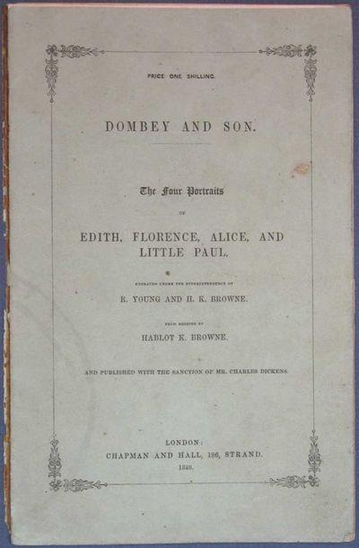 London: Chapman & Hall, 1848. 1st edition thus (NCBEL III, 798; VanderPoel B206). Pale green printed...