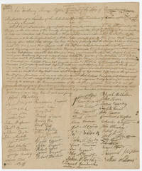 59 Western Pennsylvania Settlers Petition the Governor to Supplement Frontier Defense