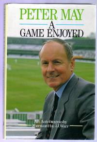 A Game Enjoyed : An Autobiography by  Michael  Peter; Melford - First  Edition - 1985 - from YesterYear Books (SKU: 050693)