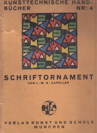 Schriftornament (Islamic designs) by L. M. K Capeller - 1946 - from Hard-to-Find Needlework Books (SKU: 50774)