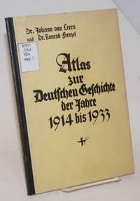 Atlas zur deutschen geschichte der jahre 1914 bis 1933