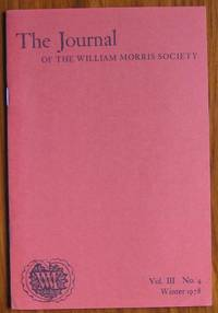 The Journal of the William Morris Society Volume III Number 4 Winter 1978