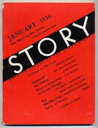 New York: Story Magazine Inc, 1936. Softcover. Very Good. Wrappers. Owner name stamped on the title ...