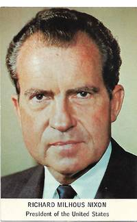 image of President Richard M. Nixon - 37th President of the United States of America - Vintage Postcard