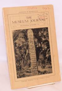 The museum journal volume VI no. 3, September 1915