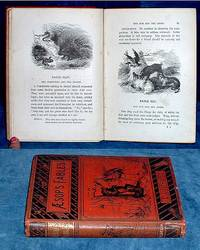 """THE FABLES OF AESOP Translated into English by Samuel Croxall, D.D. With New Applications, Morals, &c. by the Rev. Geo. Fyler Townsend, Editor of """"The Arabian Nights' Entertainments"""" .. With Eighty Original Illustrations"""