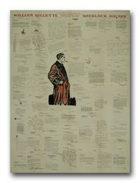 "Letters of Tribute to William Gillette On The Occasion of His Farewell to the Stage In His Famous Creation ""Sherlock Holmes"""