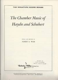 image of The Chamber Music of Haydn and Schubert (Miniature Score Series)