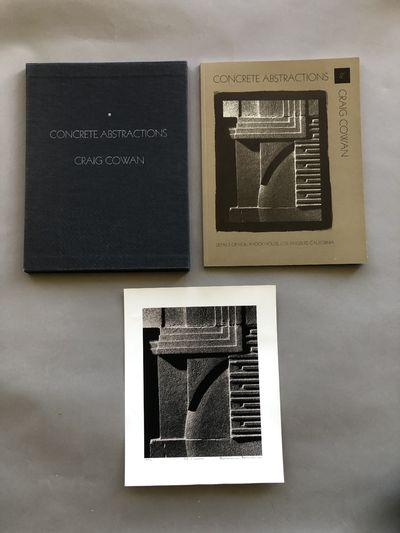 Unnumbered pages, 8 ½ x 11 inches, wrappers, cloth slipcase. Limited edition of 100 copies of which...