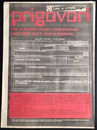 image of Prigovor! List za prigovor savesti i antimilitarizam (April 1996)