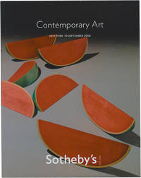 Sotheby's Auction Catalog [Catalogue]: Contemporary Art - 10 September 2008 - New York